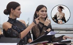 """Fan Việt bức xúc khi Hoa hậu Hoàn vũ Pia cho Minh Tú điểm cực thấp tại """"Next Top châu Á"""""""