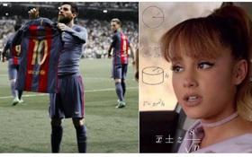 Messi là người ngoài hành tinh, phá vỡ quy tắc trọng lực?