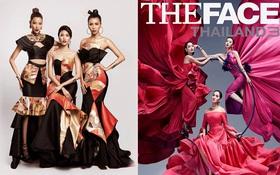 """Phiên bản """"The Face"""" có poster """"lồng lộn váy áo"""" nhất có phải là Việt Nam?"""