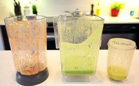 Mẹo làm sạch máy xay sinh tố trong 1 phút mà không tốn công chà rửa