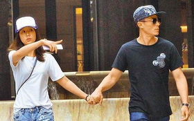 Lâu lắm rồi fan mới thấy Lâm Tâm Như - Hoắc Kiến Hoa nắm tay nhau tình tứ hẹn hò riêng tư
