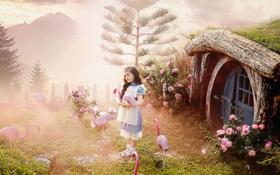 """Mê mẩn bộ ảnh """"Alice ở xứ sở thần tiên"""" của cô bé 8 tuổi"""