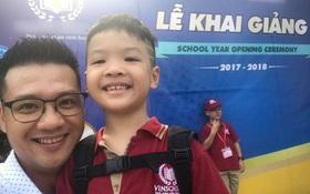 Các nhóc tỳ nhà sao Việt đã có buổi khai giảng năm học mới như thế nào?