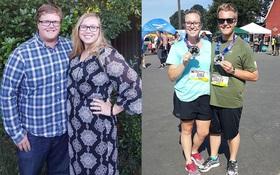 Cặp đôi người Mỹ rủ nhau giảm cân, chỉ một phương pháp duy nhất giảm 84kg trong vòng 7 tháng