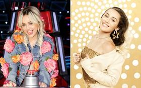 """Không còn lè lưỡi, gắn bông khắp người, Miley Cyrus đã """"bánh bèo sang chảnh"""" trong loạt ảnh """"The Voice"""""""