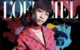 Suboi lại lên trang bìa tạp chí danh tiếng của Singapore