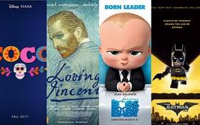 Hạng mục Phim hoạt hình xuất sắc nhất Oscar 2017 vắng mặt các ông lớn