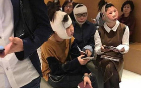 3 thiếu nữ sang Hàn quốc 'đập mặt đi xây lại' xong không được lên máy bay về nước vì khác với ảnh hộ chiếu