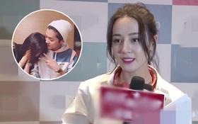 Địch Lệ Nhiệt Ba rơi vào tình thế khó xử khi bị hỏi về mối quan hệ của Luhan - Quan Hiểu Đồng
