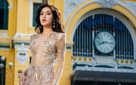 """Sao BTC Miss Grand International lại nỡ bắt các người đẹp phải """"nghiêng thùng đổ chảo"""" đứng bên cột đèn tạo dáng khó thế này?"""