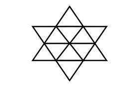Người thuộc top 2% thông minh nhất thế giới mới đếm được tổng số hình tam giác