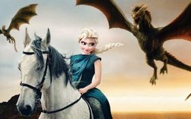 """Khi dàn diễn viên Disney tham gia bộ phim """"Game of Thrones"""" ngoài đời thực"""