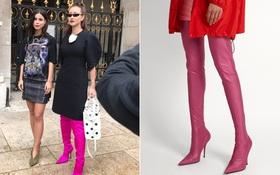 """Bị tố đi giày fake tới Paris """"làm màu"""" trong show diễn Balmain, ekip Maya mạnh mẽ đáp trả!"""