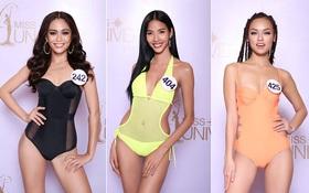 """Cận cảnh hình ảnh bikini của Hoàng Thùy, Mâu Thủy, Mai Ngô... tại """"Hoa hậu Hoàn vũ"""", ai nuột nhất?"""
