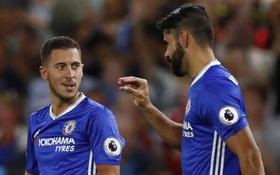 Hazard công khai phản đối HLV Conte vì Costa