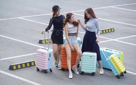 Những mẫu vali trẻ trung, ngọt ngào, chất lượng cho mùa lễ hội