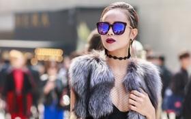 Hoa hậu Sella Trương nổi bật tại Seoul Fashion Week