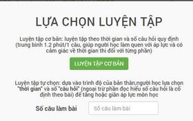 Website hữu ích để luyện thi trắc nghiệm tiếng Anh THPT