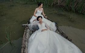 Về Ninh Bình, nhìn ngắm BST đầy ma mị của Hacchic Bridal