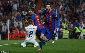 Messi thần thánh giúp Barca đánh bại Real Madrid siêu kịch tính