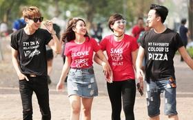 """Áo thun cá tính đang gây """"sốt"""" trong cộng đồng teen Hà Nội"""