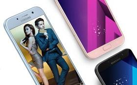 """Galaxy A5 2017 Xanh Pastel lên kệ, biệt đội """"chống nước"""" của Samsung có thêm 1 thành viên"""