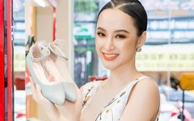 Ngắm Diễm My 9X, Angela Phương Trinh sang chảnh khi diện giày thương hiệu Việt