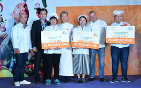 Sôi động đêm chung kết cuộc thi Lotte Mart - Thiên tài ẩm thực 2017