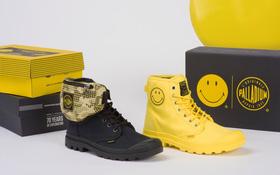 Palladium và Smiley tung BST giày cực cool nhân dịp lần đầu kết hợp