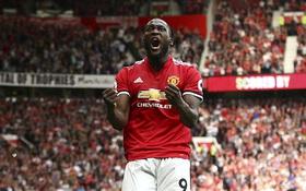 Man Utd thắng tưng bừng, lên đỉnh bảng Ngoại hạng Anh