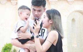 Gia đình Trang Lou – Tùng Sơn khoe ảnh đi chơi công viên giải trí cực đáng yêu