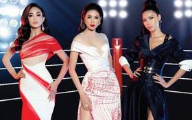 """Phạm Hương, Minh Tú, Mâu Thủy đối đầu kịch liệt trong show thời trang có """"một-không-hai"""""""