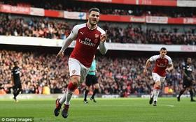 Arsenal khuất phục Swansea, thắng trận thứ 4 liên tiếp