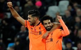 Salah lập cú đúp, Liverpool phả hơi nóng vào gáy Arsenal