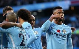 Man City thắng thuyết phục Arsenal, xây chắc ngôi số 1