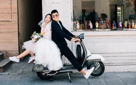 """Cùng nhau cưới chất với loạt ảnh cưới """"đẹp tự nhiên mà không trộn lẫn"""""""