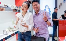 Tăng Thanh Hà, Phillip Nguyễn cùng Kim Nhung dự khai trương thương hiệu giày đến từ Anh Quốc