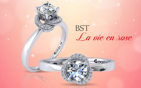 Chọn nhẫn đính hôn kim cương DOJI cho màn cầu hôn hoàn hảo