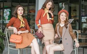 Cách mix phụ kiện sành điệu với trang phục Thu Đông