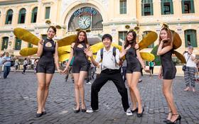 """Ngỡ ngàng trước dàn """"chuồn chuồn"""" xinh đẹp xuất hiện tại Sài Gòn và Hà Nội"""