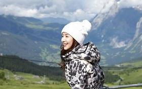 """""""Nữ hoàng dao kéo"""" Park Min Young đẹp động lòng người trong ảnh du lịch Thụy Sĩ"""