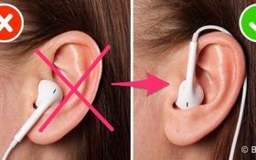 Không phải ai cũng biết đeo tai nghe thế này sẽ giúp bạn nghe nhạc hay hơn gấp mấy lần
