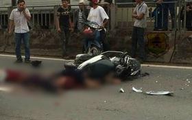 Đồng Nai: Tai nạn kinh hoàng khi 3 thanh niên đèo nhau trên xe máy đi vào làn đường ô tô