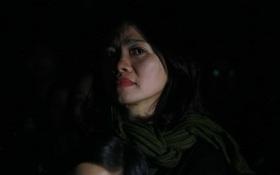 """Cập nhật: Vợ Trần Lập nghẹn ngào khi giọng chồng cất lên trong ca khúc """"Mắt đen"""""""