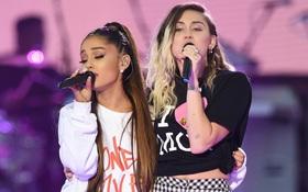Clip: Ariana, Miley, Justin, Coldplay hòa giọng trong concert tưởng nhớ các nạn nhân vụ đánh bom Manchester