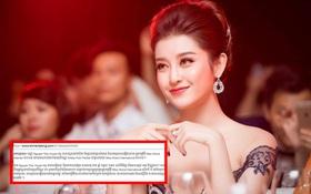 """Được truyền thông Campuchia dự đoán giành thứ hạng cao tại """"Miss Grand International 2017"""", Huyền My nói gì?"""