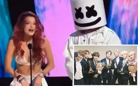 Cách công bố BTS thắng giải của BTC Teen Choice Awards gây bức xúc