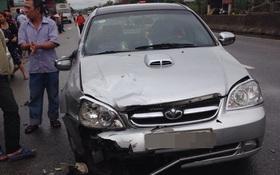 Bé 3 tuổi tử vong, mẹ và chị gái nguy kịch sau va chạm với ô tô