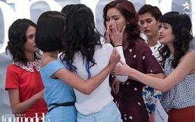 """Minh Tú lại khóc tại """"Next Top châu Á"""", nguyên nhân là do đâu?"""