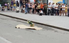 Hà Nội: Cô gái rơi từ tòa nhà cao tầng khu đô thị Linh Đàm xuống đất tử vong